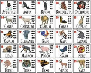 jeu d'animaux de loterie sportive