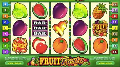 Caça níqueis frutinha online