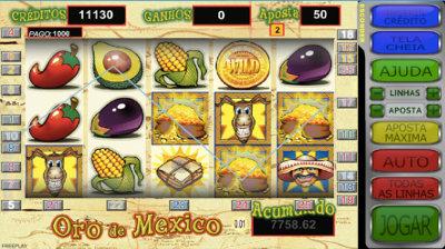 caça niquel oro de mexico online