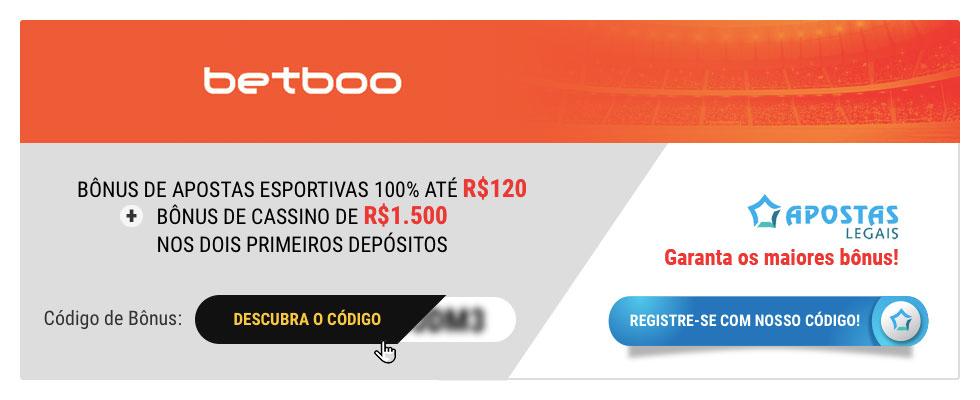 Código de Bônus Betboo