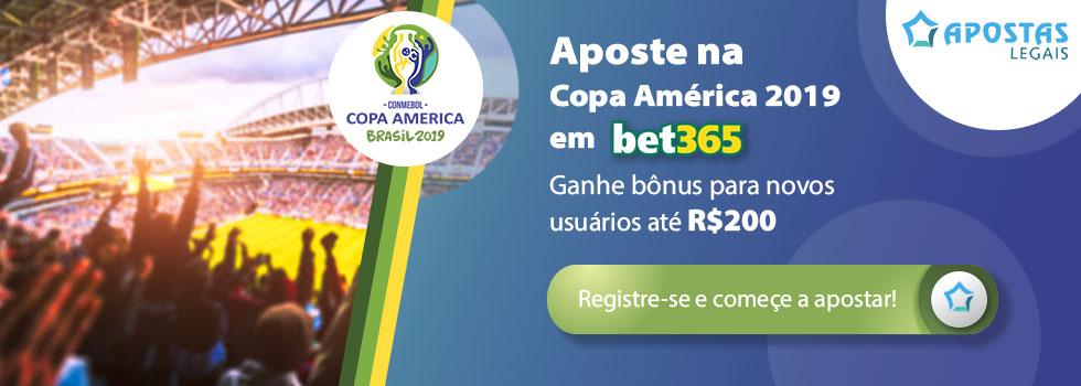 Probabilidades para Copa America 2019