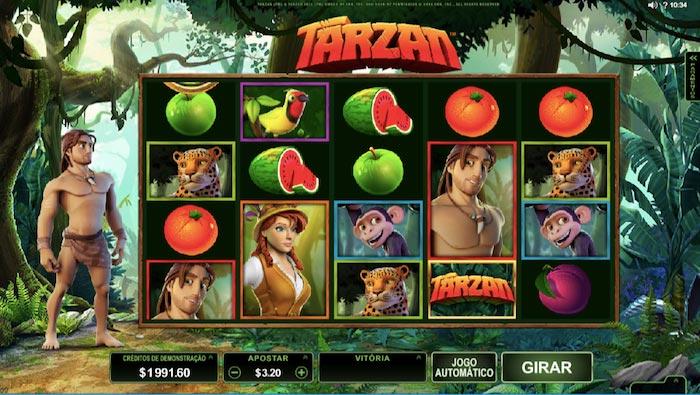 Jogo do Tarzan Caça Níquel
