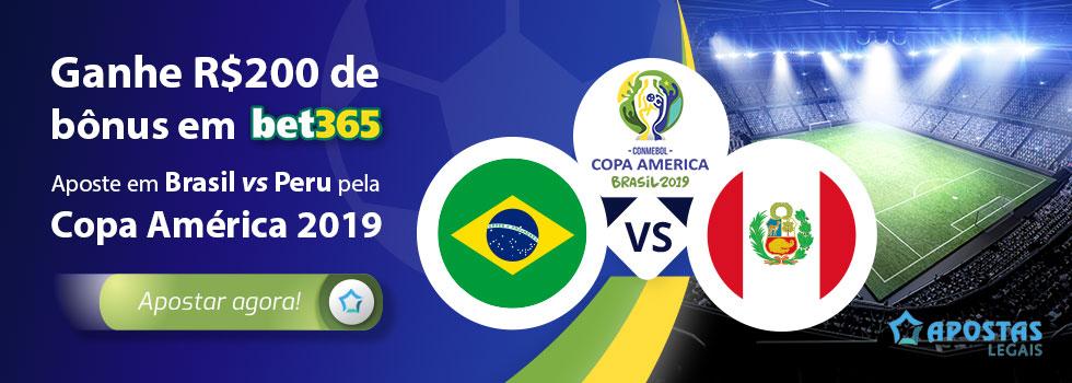 Brasil – Peru Prognósticos Copa América 2019