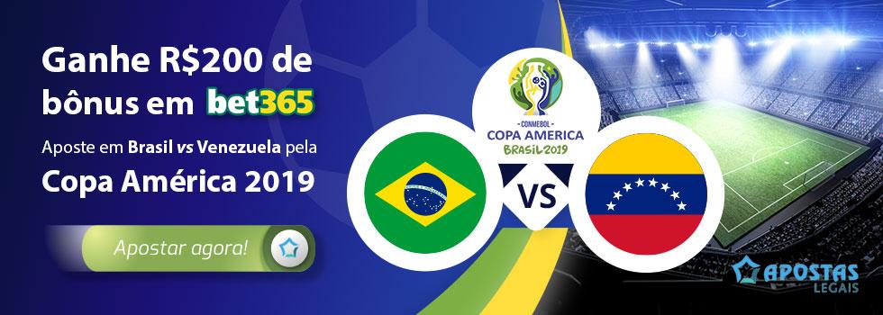 Brasil – Venezuela Prognósticos – Copa America 2019
