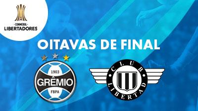 Grêmio x Libertad Oitavas de Final