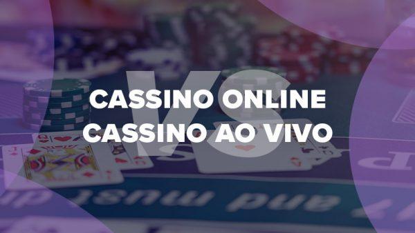 cassinos online e ao vivo