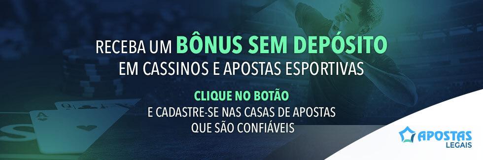 Bônus sem Depósito - Casino e Apostas Grátis