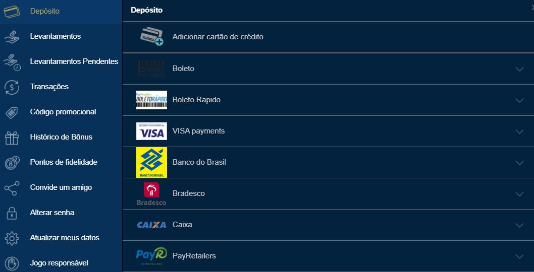 europa casino pagamento