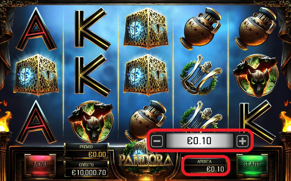 pandora slot jogar online